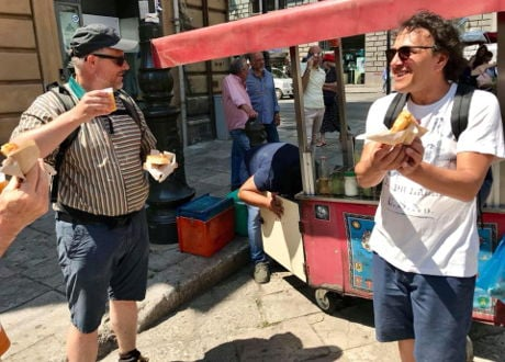 Palermo street food tour with Chef Fulvio