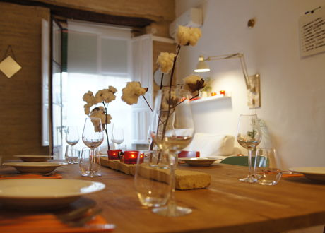 Organic, Seasonal Lunch in a Traditional Seville House