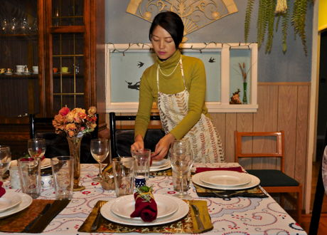 Seasonal Vegetarian Chinese Dinner Party with a European Twist